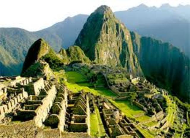 Machu Picchu 21st curse... PART 1