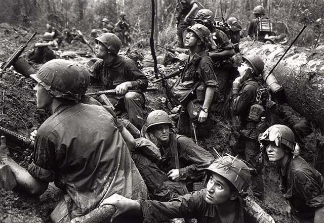 First US troops leave Vietnam