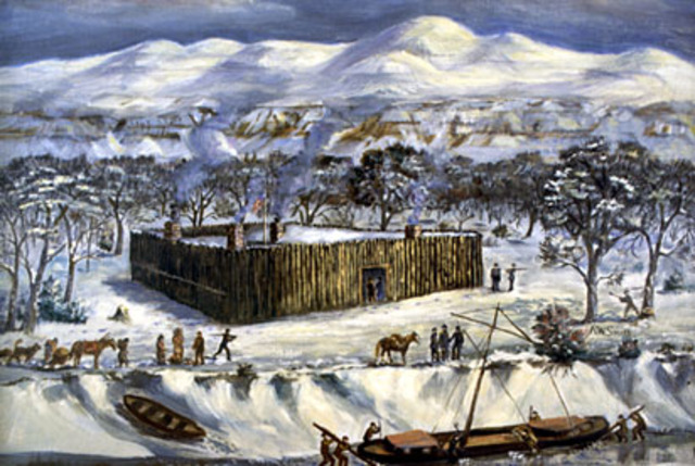 Freezing at Fort Mandan