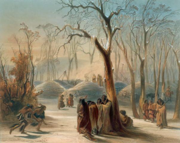 Buffalo calling by the Mandan and Hidatsa Tribes