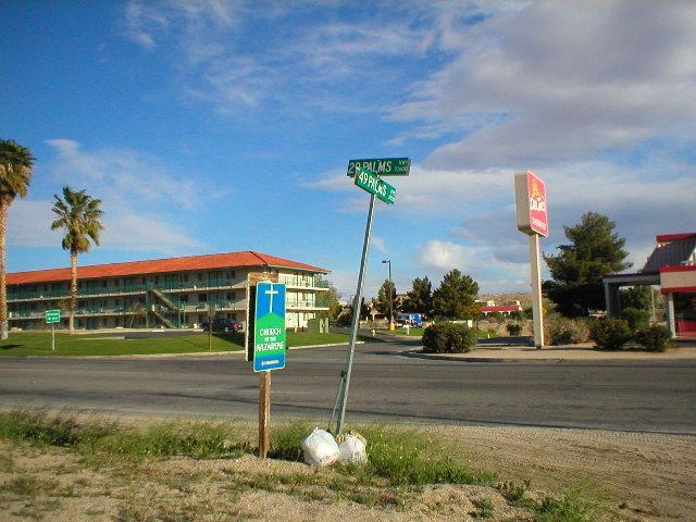 Paul moves to 29 Palms, California