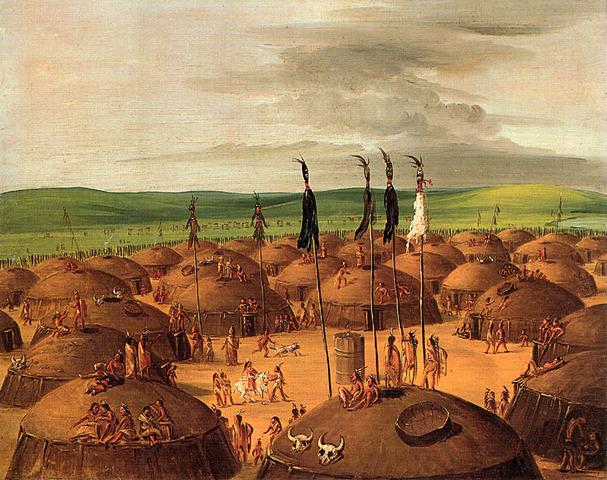 The Mandan and Hidatsa Village