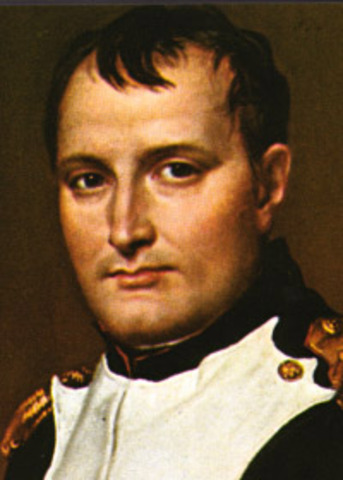 Napoleon dies from stomach canser