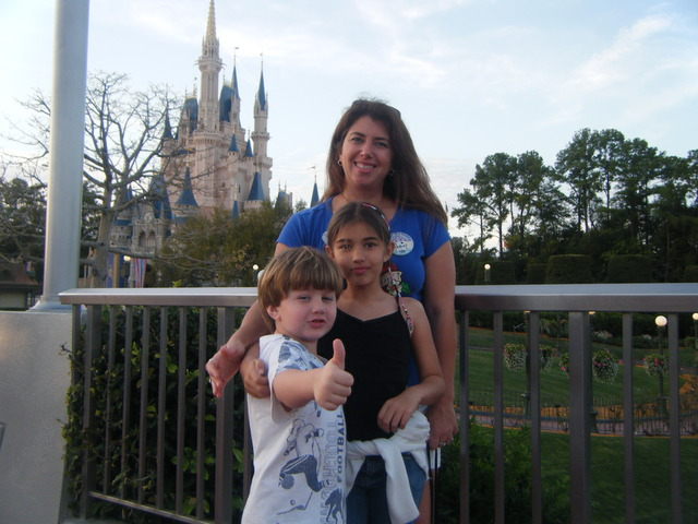 My birthday present was a day at Disney!