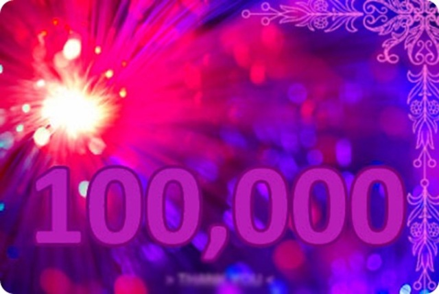100,000 users of the internet