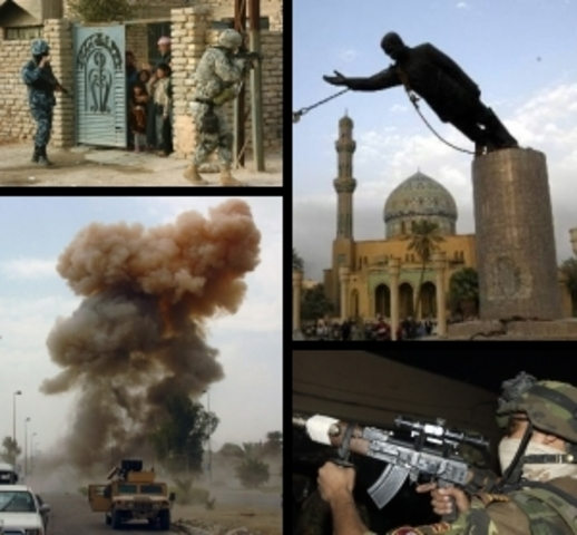 Operation Iraqi Freedom begins