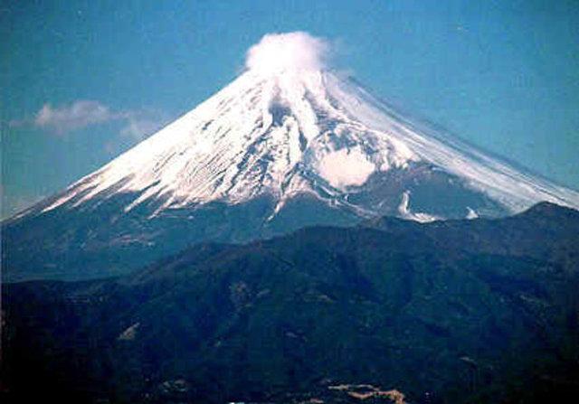 Kane climbed Mt. Fuji!