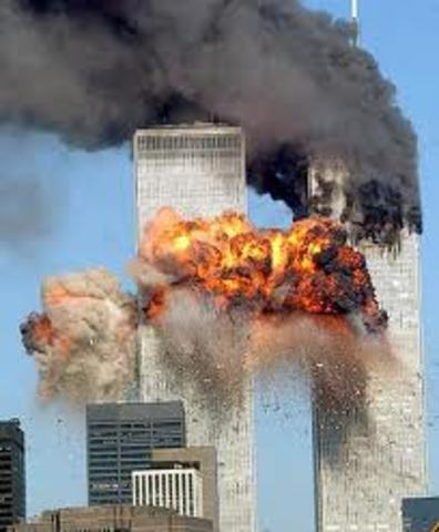 Strikes on twin towers