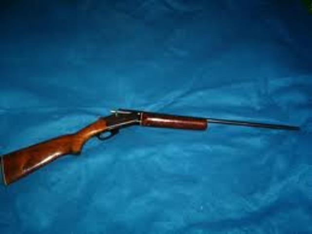 Guns were made around the 7 hundreds