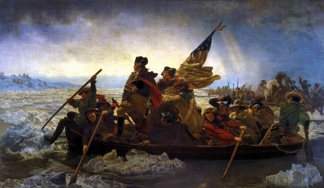 Washington Crosses the Deleware River