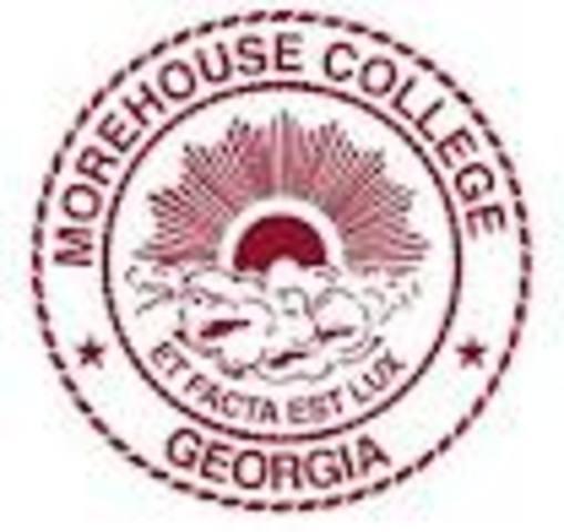 Martin enterd Morehouse College in Atlanta at age 15