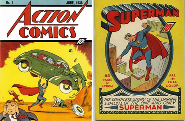 First Appearance of Superman