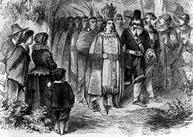 Meeting the Native Americans