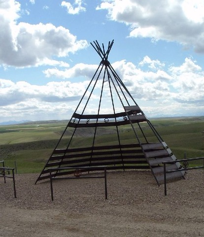 Conflict with Blackfeet Indians