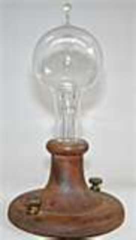 First Incandescent Light Bulb