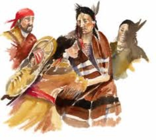 Sacagawea Finds Her Brother
