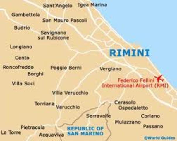 Lui è nato a Rimini, Italia