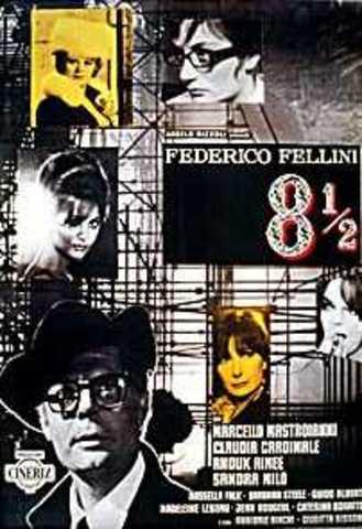 Il suo film, 8 1/2 è stato rilasciato.