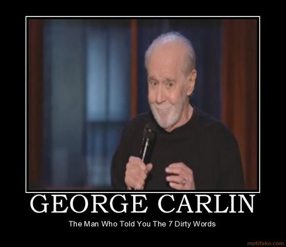 Carlin's 7 Dirty Words on the Radio FCC Battle