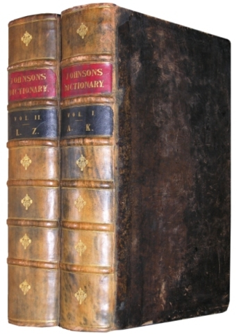 Samuel Johnson publishes the first English language dictionary
