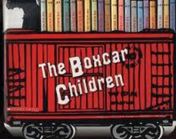 I thought I was a Boxcar Kid.