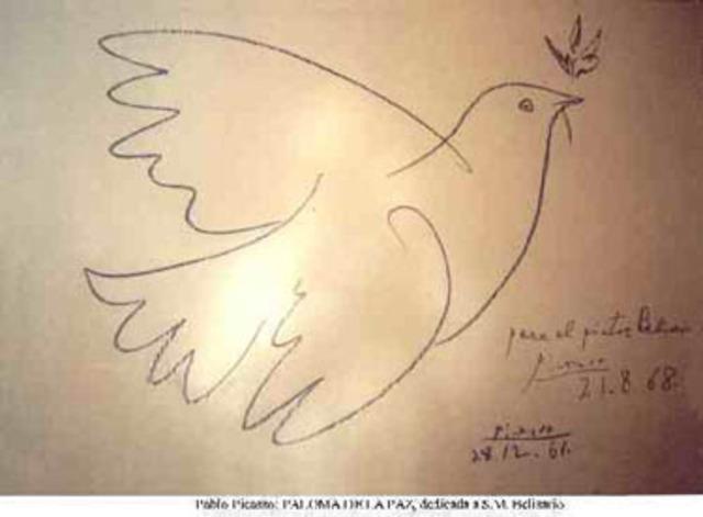 La paloma de la Paz