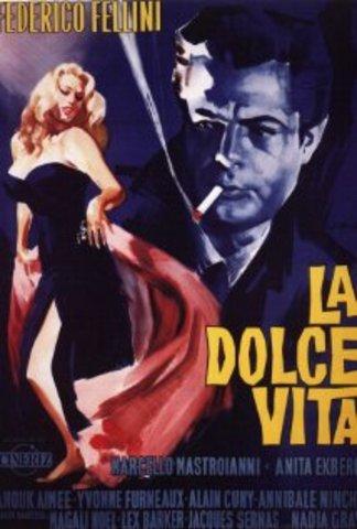 Ha diretto La Dolce Vita, interpretato da Marcello Mastroianni