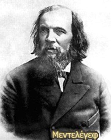 Η Γέννηση του Δημήτρης Ιβ. Μεντελέγεφ
