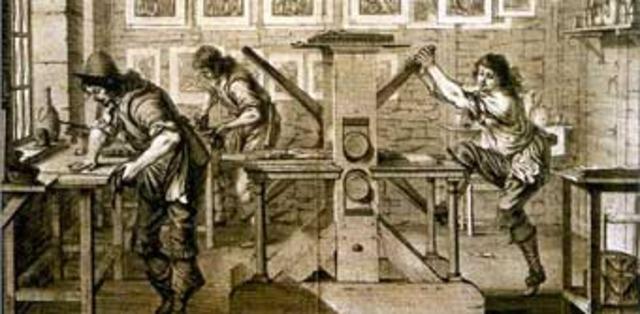 Creació de la imprenta