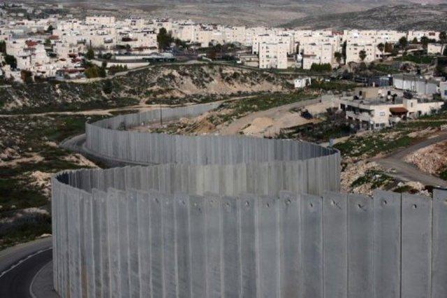 La barrière de séparartion israélienne