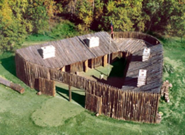 Started Fort Mandan