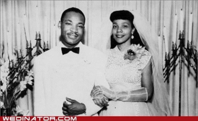 He  married Coretta Scott