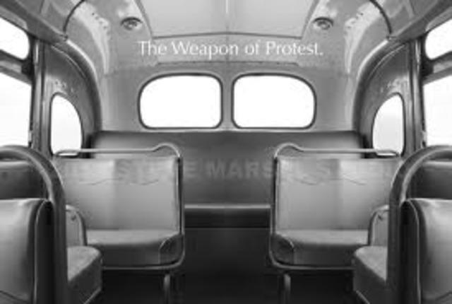 Montgomery bus boycott begins