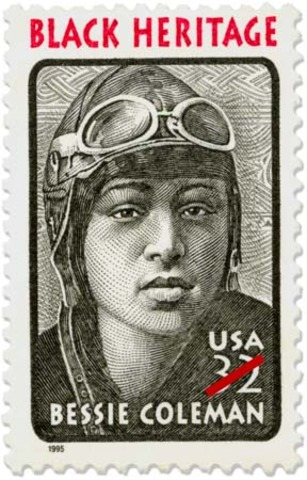 The USPS Issued a Commemorative Stamp in Bessie's Honor