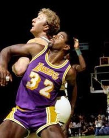Lakers finally win.