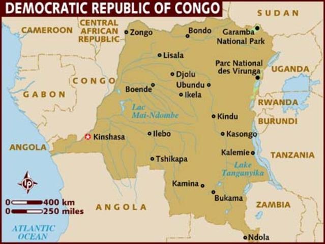 Democratic Republic of the Congo declares independence