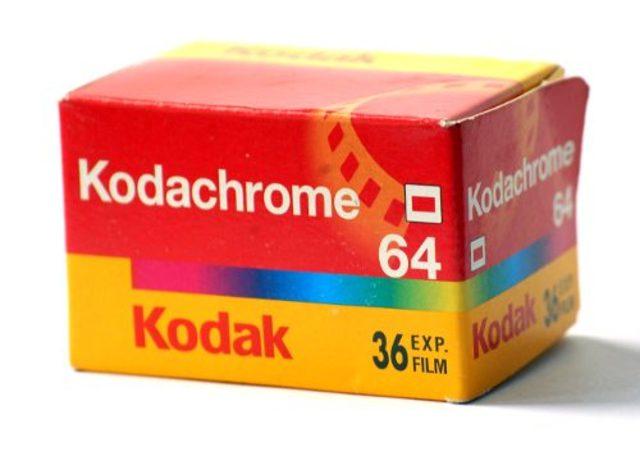 Kodachrome film ends