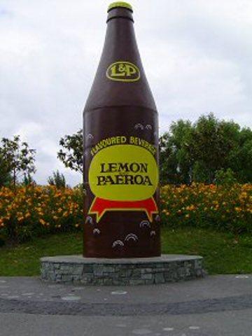 L & P bottle
