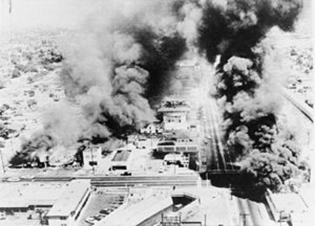 Watts Riots in California
