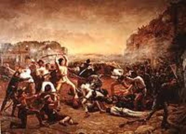 •Battle of the Alamo