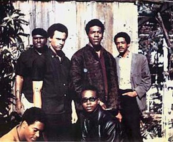 Black Panther Party Founded