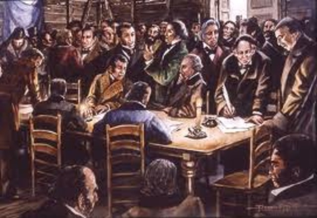•Convention of 1836 (Texas Declaration of Independence)
