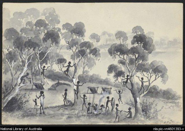Aboriginal life in the 1700
