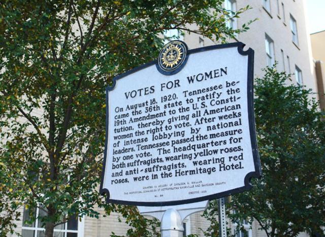 Women Gain Right to vote