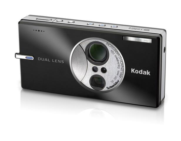 Dual-lens digital cameras