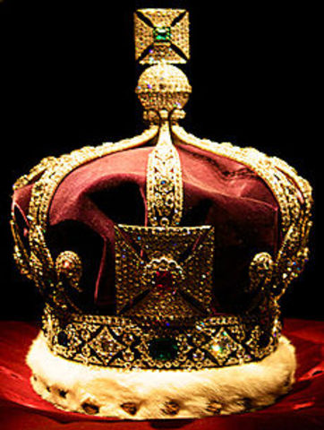 Henry VIII was crowned King of England.