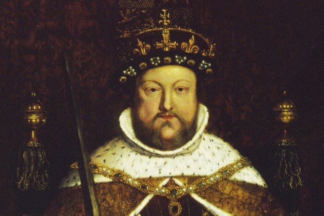 Henry VIII died.