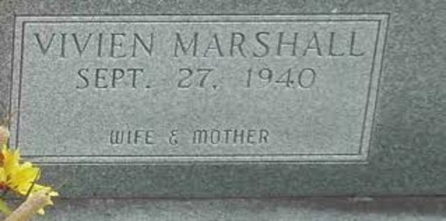 Thurgood Marshall 1st Wife's Death [ Vivien Burey ]