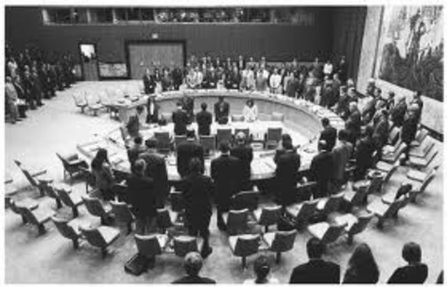First UN Meeting