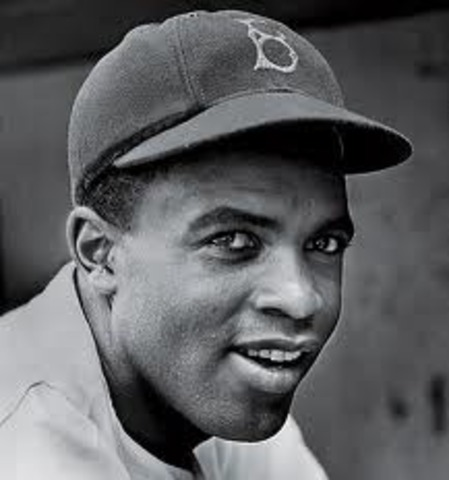 Jackie Robinson Becomes the First African American to Play in the Major Leagues